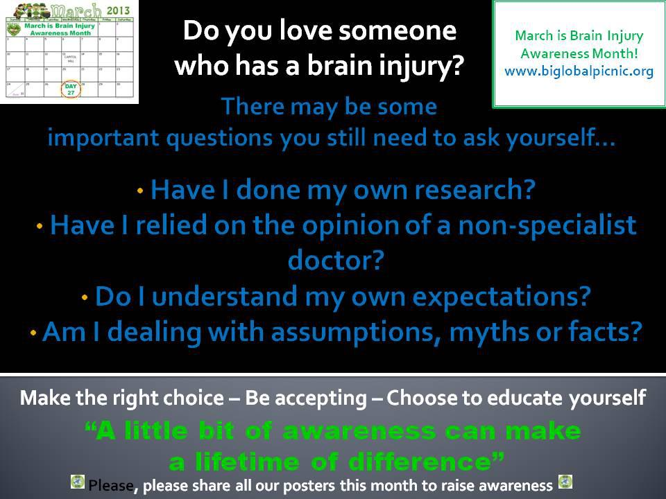 Learn all you can about brain injury!
