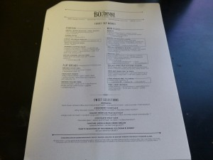 bb menu out