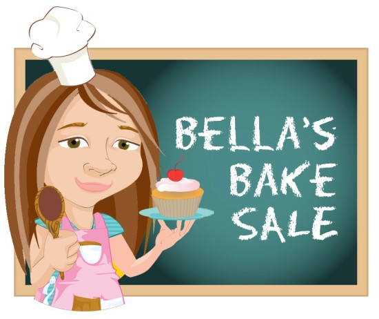 bellas bake sale